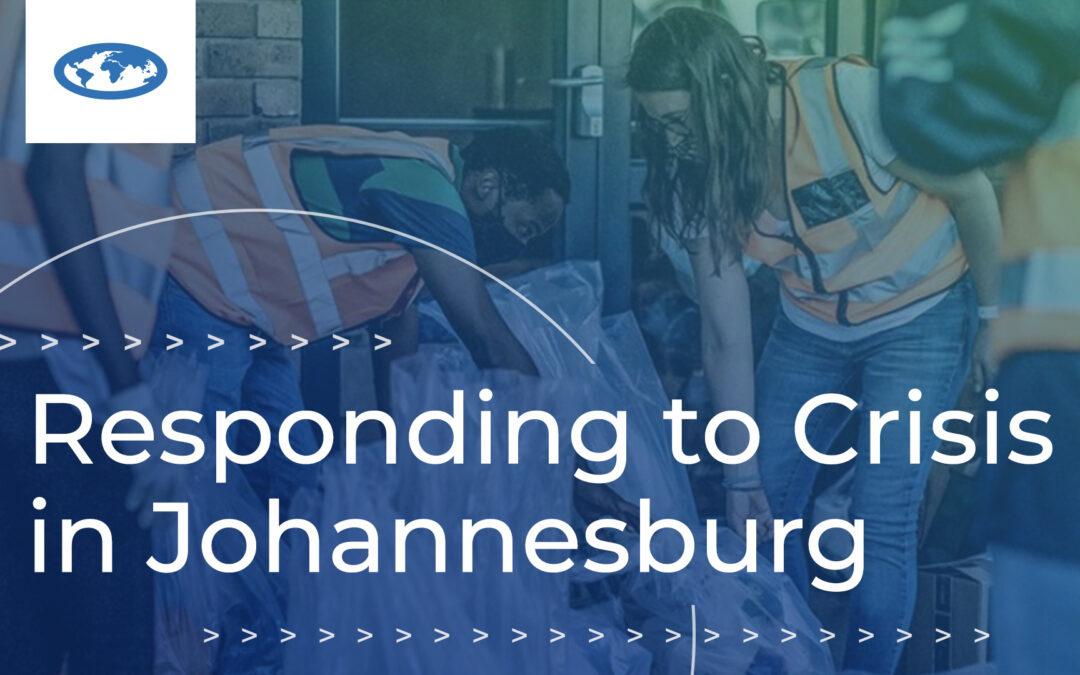 Responding to Crisis in Johannesburg