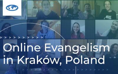 Online Evangelism in Kraków, Poland