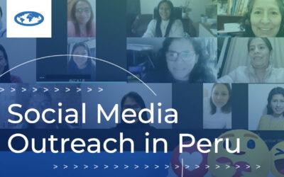 Social Media Outreach in Peru