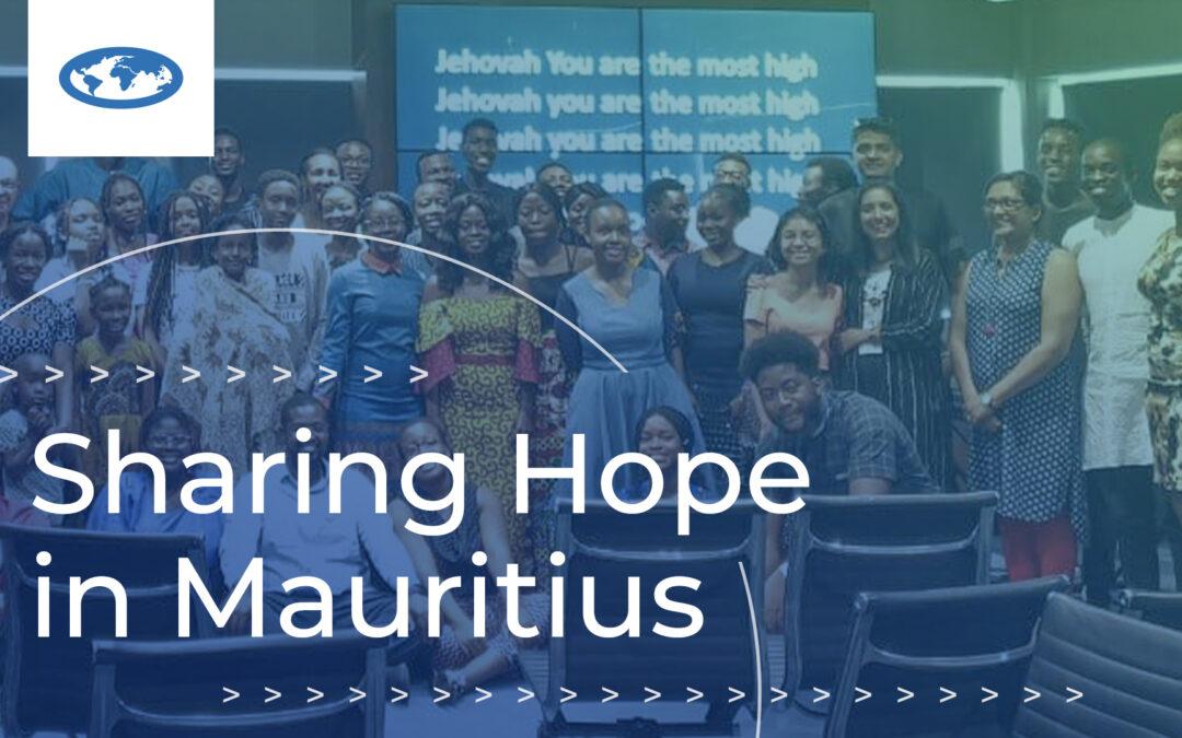Sharing Hope in Mauritius