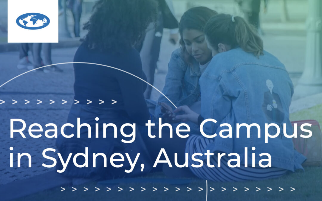 Reaching the Campus in Sydney, Australia