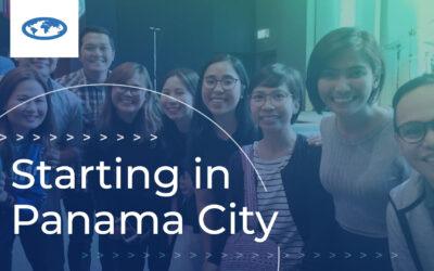 Starting in Panama City